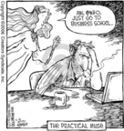 Comic Strip Dave Coverly  Speed Bump 2006-03-18 business school